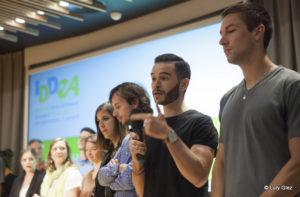 Le NID à la soirée d'ouverture du Prix IDDEA 2015